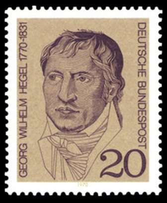 Hegel stamp