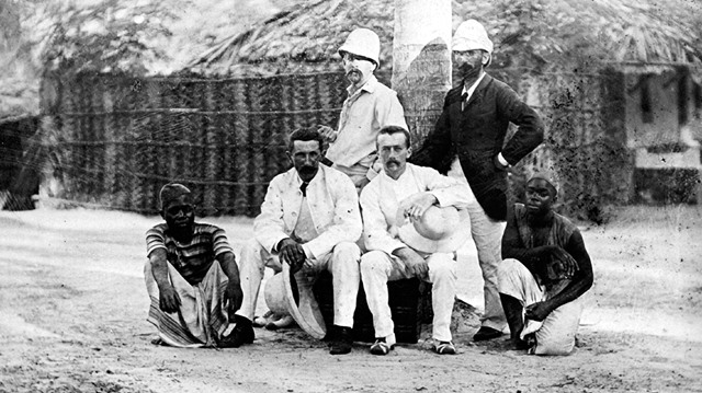 Picture by early British Baptist missionary Alice Seeley Harris, who used her photos to expose abuses in the colonies. Her work helped end the bloody rule of King Leopold in the Belgium Congo in 1908. Picture from CT.