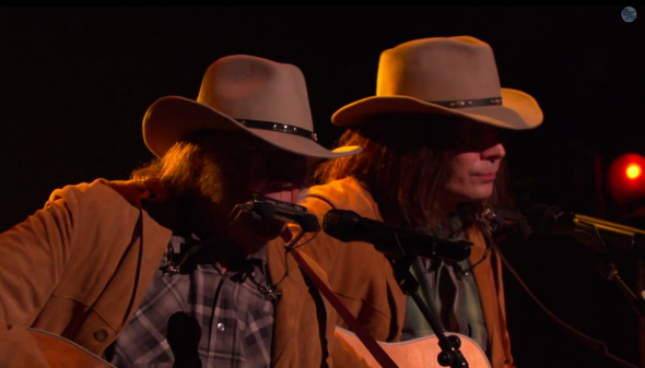 "Jimmy Fallon gave a credible performance of ""Old Man"" as and with Neil Young."