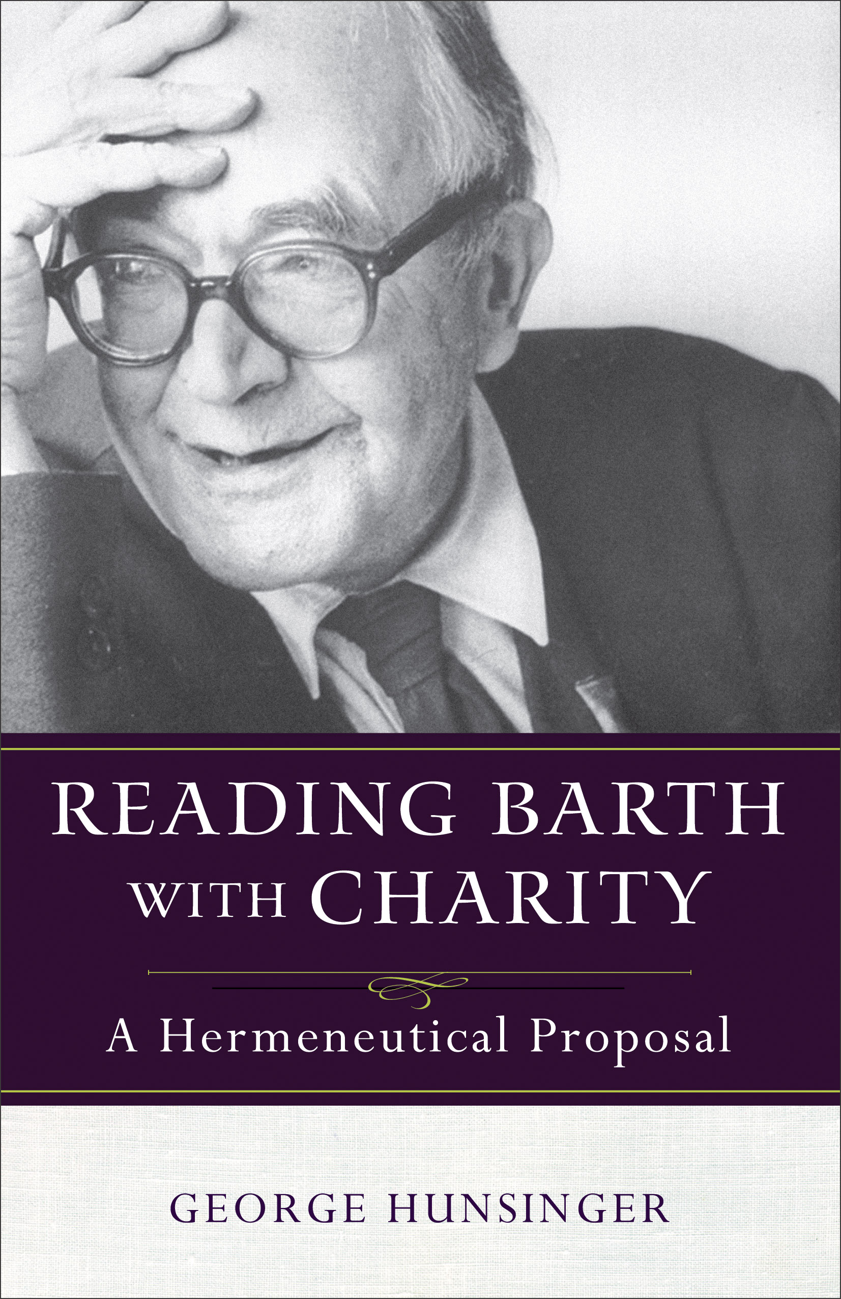 Hunsinger, Barth with Charity Cover