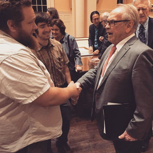 Moltmann at Princeton