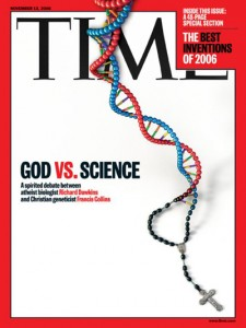 Time Cover God vs Science