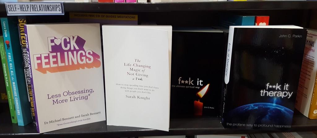 Profane Book Titles