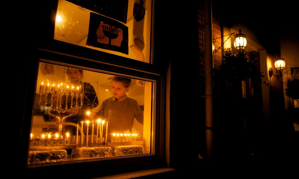 Hanukkah Window